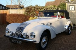 Fabulous 1949 Allard M type 3.9 V8 Four Seater Open Tourer