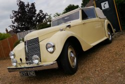 ARMSTRONG SIDDELEY HURRICANE 6cylinder  MANUAL 3 Position Drophead 1946