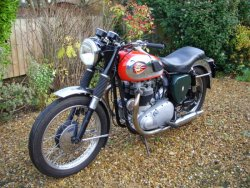 BSA A10 Style Road Rocket 650cc   1957