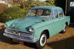 Hillman Minx 1600cc Series 3c 1962 Manual 27,000 miles
