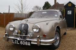 Jaguar MK2  Big Bumper 3.8 Manual overdrive 1963
