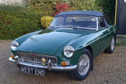 MGB Roadster MK 1 1964 with 5 SPEED GEARBOX