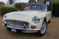 MG  C Roadster  1968  'Award  Show Condition'