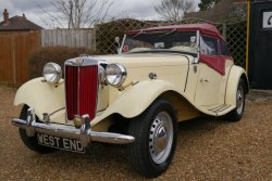 Lovely Original 1951  MG TD  Midget 2 Seater Sports