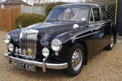 A Fantastic Preserved  MG ZB Magnette 1958 Sports Saloon