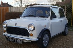 Mini 1275cc Sprite  Automatic 9,000 Miles 1994