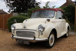 Delightful Morris Minor Factory Convertible 1958