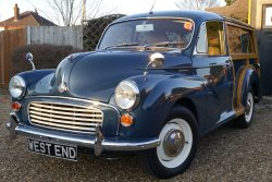 Astonishing Morris 1000 Traveller 1965  Fully restored and out of the box