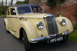 A Very Stylish Post War Riley RMA 1947 Four Door Saloon
