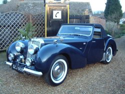 Triumph Roadster 2000 With Dicky Seats NOW SOLD More WANTED 1949