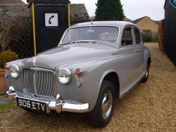Rover 90 P4  Six Cylinder 1959