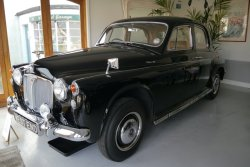 Rover P4  95. Six cylinder 1962. Low Recorded Miles