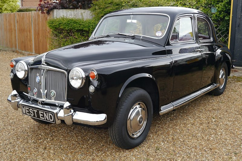 Rover P4 80 2286CC 1962 With Overdrive 1962