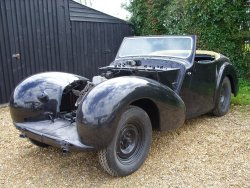 A Restoration TRIUMPH ROADSTER 1948 1800  Super Project Car