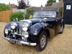 Triumph Roadster  2000 1949    last owner 32years