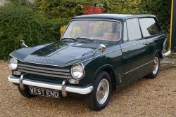 Triumph Herald 13.60  ESTATE CAR 1968 Duel Purpose Classic.