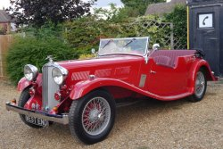 Truly Stunning 1934 Triumph Gloria 6 Cylinder - Speed Model 4 Seater Tourer