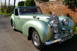 Multi Show Winning Triumph Roadster 2000 1949