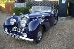 Triumph Roadster 2000 1949 With Dicky Seats