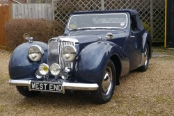 Triumph Roadster 1800  1947 With Dicky Seats