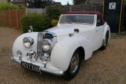 Triumph Roadster 2000 1949  Fully Restored