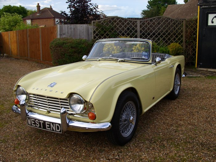 Triumph TR4  1964  For Sale with Wire Wheels and Overdrive.  Show Car