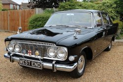 Ford Zodiac MK 3 Manual Straight Six  1964. Rare Floor Change