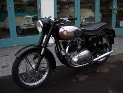 BSA A10 650cc Gold Flash Show Bike 1957