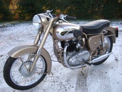 BSA A10 650cc GOLD FLASH 1956