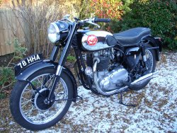 BSA 650cc twin A10 Gold Flash 1958 now sold (MORE WANTED)