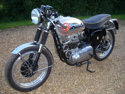 BSA 650cc ROCKET GOLD STAR (REP) now sold More WANTED 1955