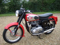 BSA  ROAD ROCKET now sold More WANTED 1957