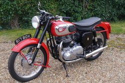 BSA 650cc Road Rocket  1957 Fully Restored