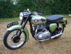 BSA SHOOTING STAR PRE-UNIT TWIN 1960