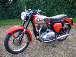 BSA  A10  650cc  SUPER   ROCKET. 1962