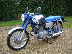 HONDA CB72   1965  One Owner From New