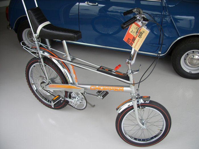 Raleigh CHOPPER 1979 Mk2 Silver One Owner