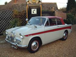 Singer Gazelle Convertible now sold More WANTED 1960