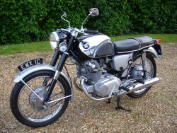 HONDA 305cc CB77 Super Sports 1965 now sold More WANTED