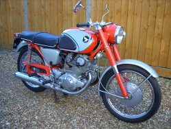 HONDA CB72 Super Sports now sold (MORE WANTED) 1966