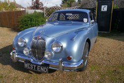 Jaguar 3.4 Mk2 1966 Manual  Overdrive