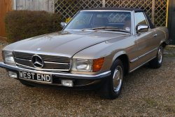 Mercedes 280 SL  1985  Very Low Mileage Example