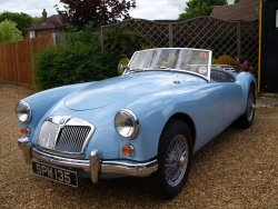 MGA 1600 Mk1 Roadster  5 Speed Previous Concours  winner 2001 1960