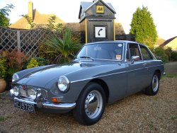 MGB GT 1966 with overdrive now sold (MORE WANTED)