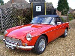 MGB ROADSTER MK1 OVERDRIVE now sold (MORE WANTED) 1966