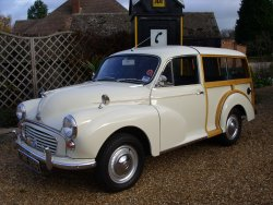 MORRIS 1000  WOODY TRAVELER 1969 now sold (MORE WANTED)