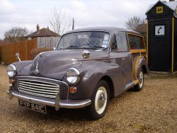 Morris 1000 Traveller 1965  Lady owned 30+ years