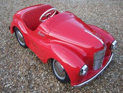 AUSTIN J40 CHILDS PEDAL CAR  C'1950S