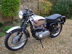 BSA 650cc ROCKET GOLD STAR (REP) 1964 now sold (MORE WANTED)