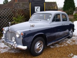 ROVER P4 100 Show Car! now sold More  WANTED 1962